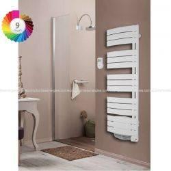 Sèche serviette Thermor Allure avec soufflerie pivotant droit 500 w + 1000 w