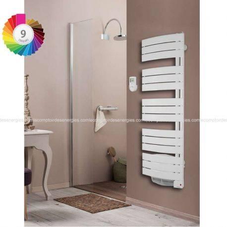 Sèche serviette Thermor Allure avec soufflerie pivotant droit 750 w + 1000 w