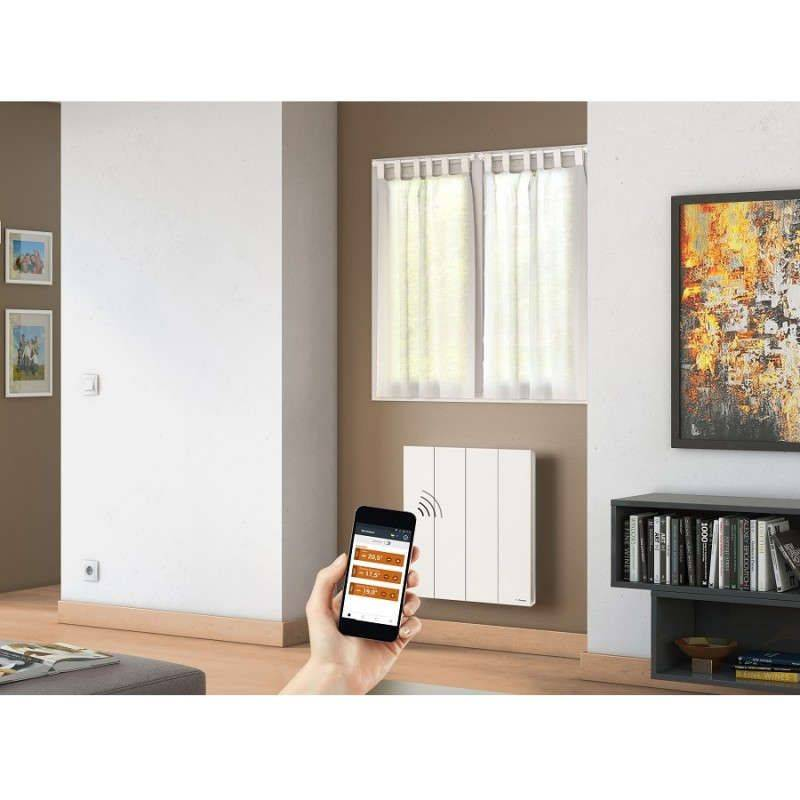 radiateur lectrique horizontal kenya 3 en 1000 w de marque thermor. Black Bedroom Furniture Sets. Home Design Ideas