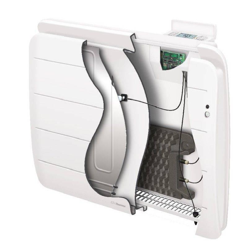 radiateur thermor equateur 3 intelligent et connecte bas 1500 w. Black Bedroom Furniture Sets. Home Design Ideas