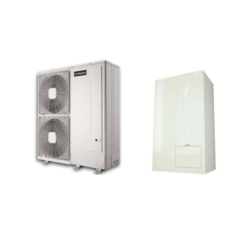 pompe chaleur chauffage seul air eau hitachi yutaki s 4 0. Black Bedroom Furniture Sets. Home Design Ideas