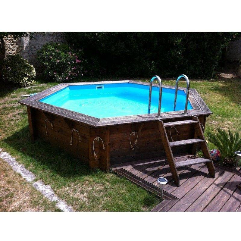 piscine en bois sans liner gallery of mini piscine avec. Black Bedroom Furniture Sets. Home Design Ideas