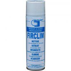 Spray mousse nettoyant anti-bactérien Firclim