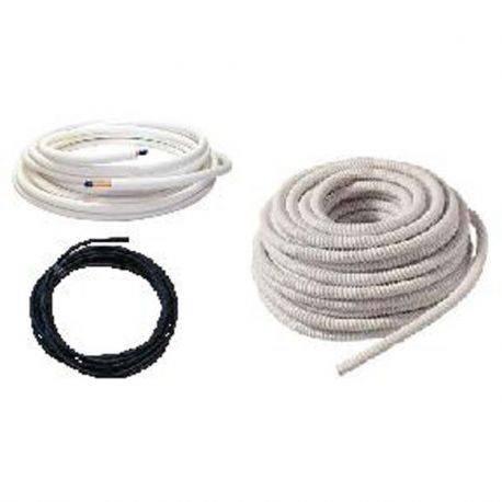 Kit d'installation : Liaison frigorifique 1/4-5/8 + Câble inter-unité + condensat