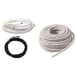 Kit d'installation : Liaison frigorifique 1/4-3/8 + Câble inter-unité + condensat