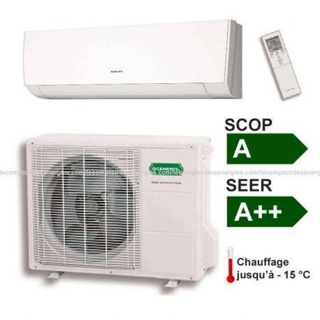 Climatiseur monosplit 5 Kw Fujitsu/Général Série LM