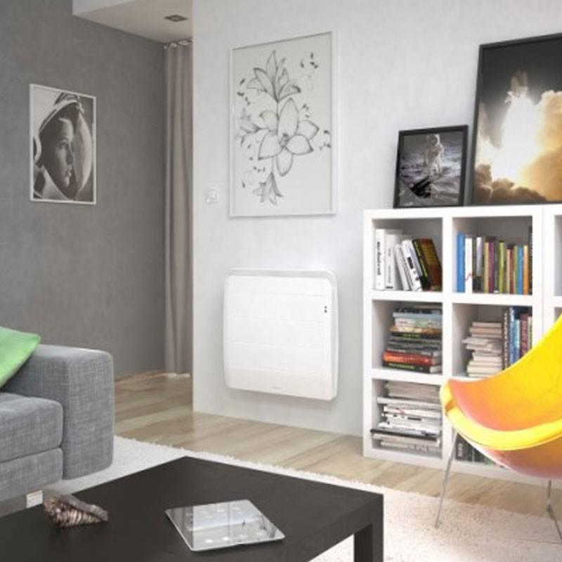 radiateur thermor equateur 3 intelligent et connecte horizontal 1000 w. Black Bedroom Furniture Sets. Home Design Ideas