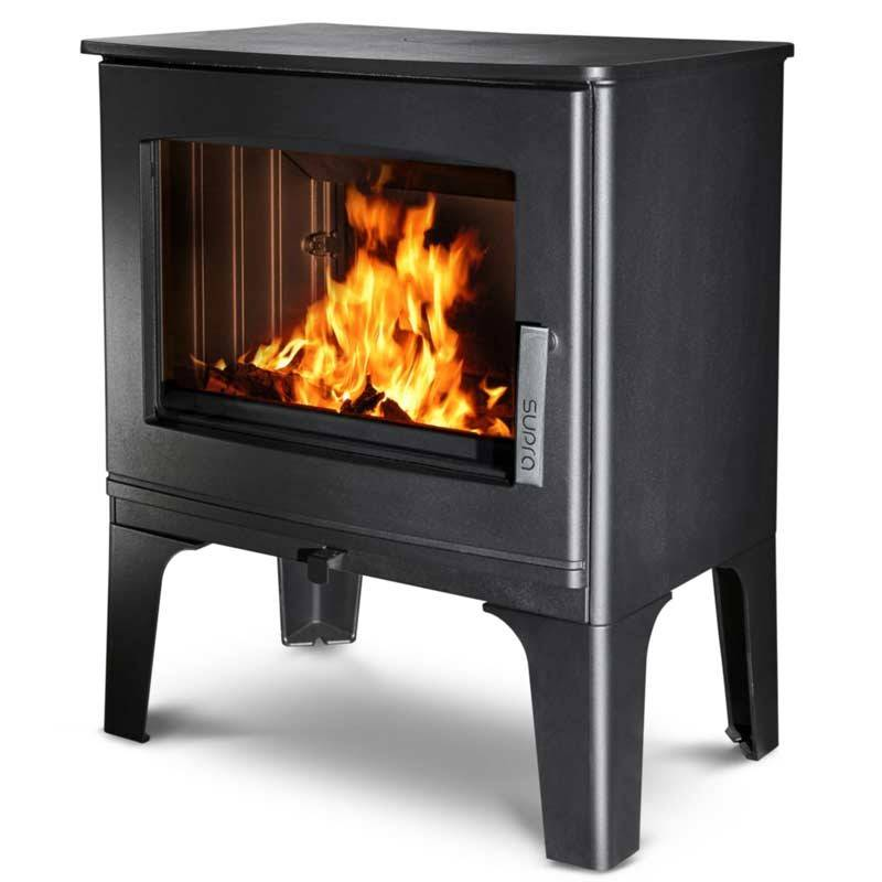 po le bois gabin 7 kw en fonte avec des b ches de 55 cm. Black Bedroom Furniture Sets. Home Design Ideas