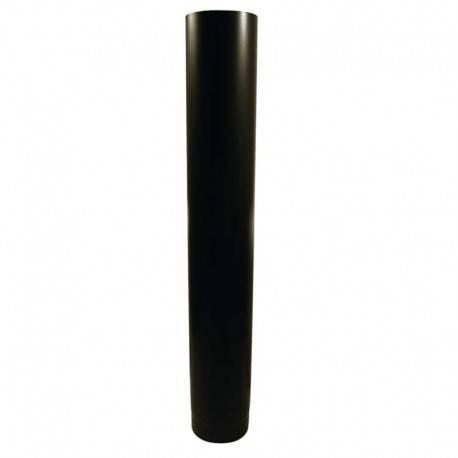 fumisterie tuyau acier maill noir mat longueur de 100. Black Bedroom Furniture Sets. Home Design Ideas
