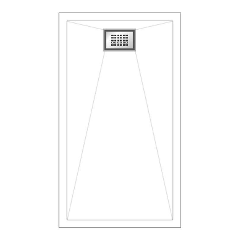 receveur kinesurf extra plat blanc 160 x 90 kin do. Black Bedroom Furniture Sets. Home Design Ideas