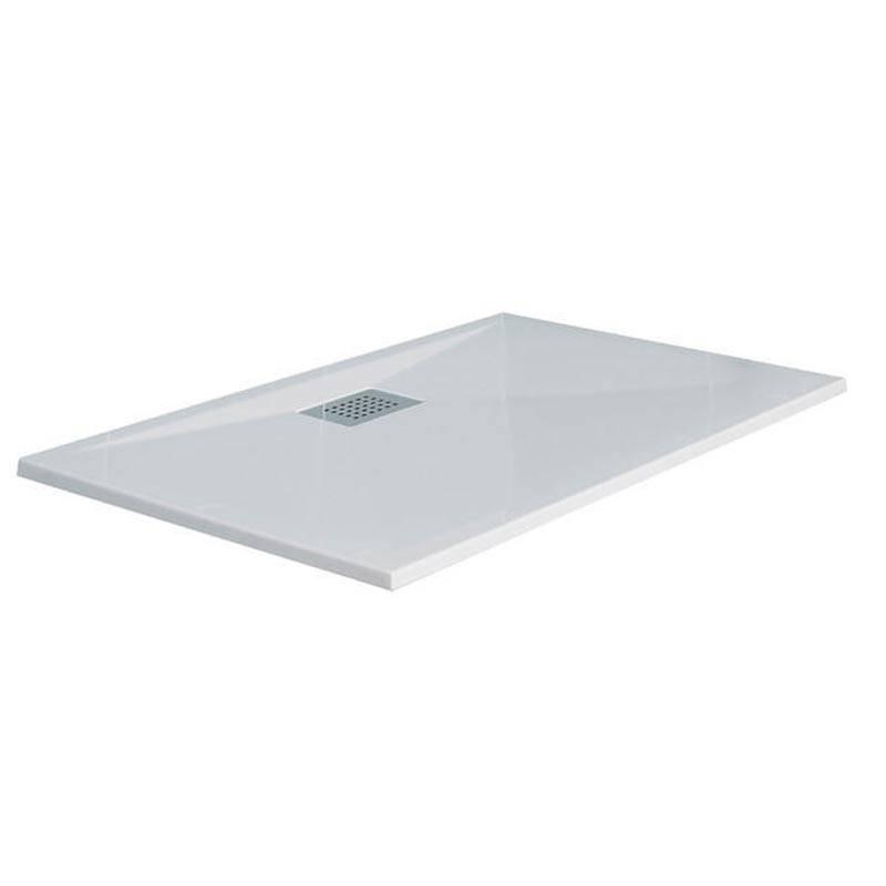 receveur kinesurf extra plat blanc 100 x 80 kin do. Black Bedroom Furniture Sets. Home Design Ideas