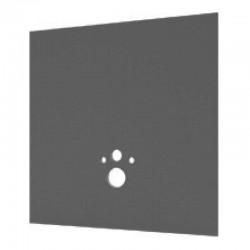 Panneau d'habillage pour bâti support de WC wedi I-Board -120 x 124 x 2 cm