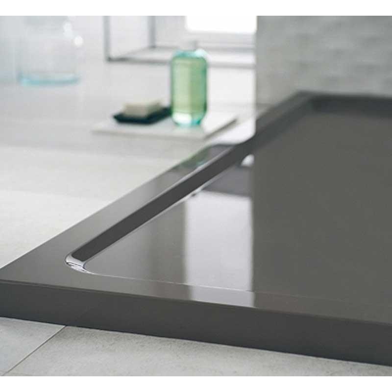 receveur prima style extra plat rectangulaire poser ou. Black Bedroom Furniture Sets. Home Design Ideas