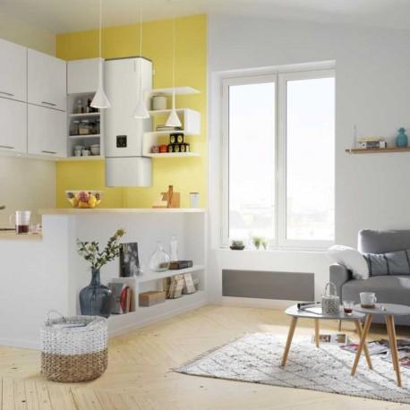 chauffe eau lectrique lin o 80 litres connect multiposition. Black Bedroom Furniture Sets. Home Design Ideas
