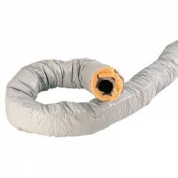 Gaine souple Atlantic PVC extérieur et Alu intérieur D 160 mm - ISO 50 mm
