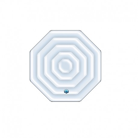 Couverture gonflable octogonale NetSpa