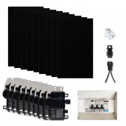 Kit solaire 3015 wc - Panneaux Qcells avec Micro-onduleur IQ7