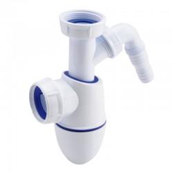 Siphon évier bi-matière BM53 avec prise machine à laverNicoll