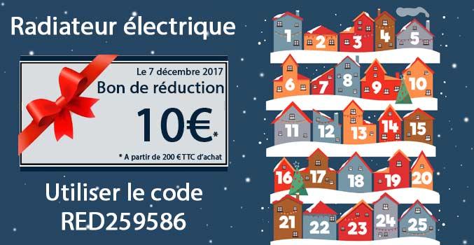 Promotion radiateur électrique