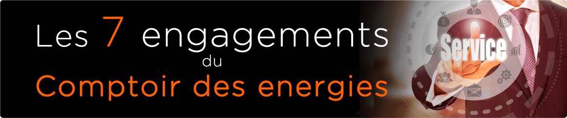 Engagements Le Comptoir des Energies